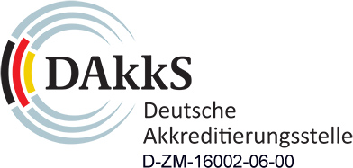 Deutsche Akkreditierungsstelle - Siegel Logo
